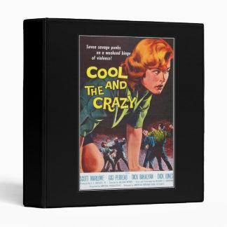 Vintage movie horror - vinyl binders
