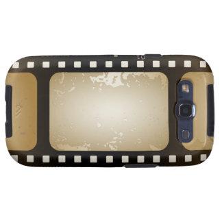 Vintage Movie Photographer Film Strip Film Role Samsung Galaxy S3 Cases