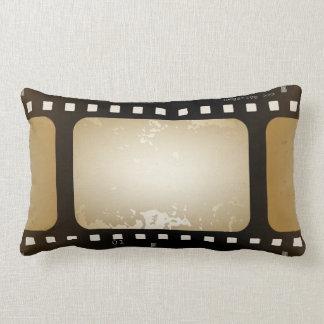 Vintage Movie Photographer Film Strip Film Role Lumbar Pillow