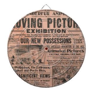 Vintage Movie Poster Dartboard