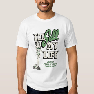 "Vintage Movie Poster - ""I'll Sell My Life"" T-Shirt"