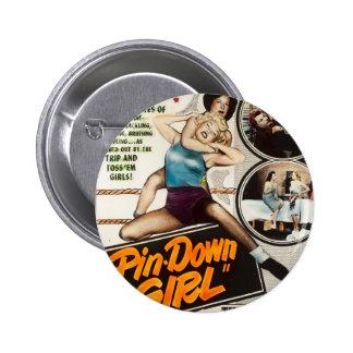 Vintage Movie Poster Wrestling Pin Up Girls Pinup