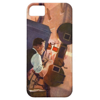 Vintage Movie Theater Projectionist Film Camera iPhone SE/5/5s Case