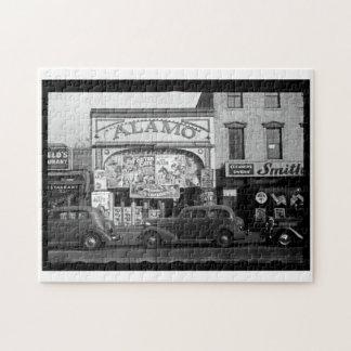 Vintage Movie Theater Puzzle
