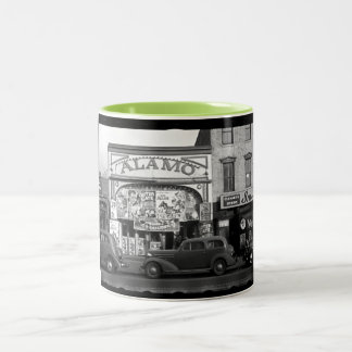 Vintage Movie Theater Two-Tone Coffee Mug