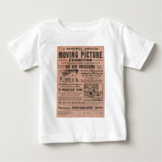 Vintage Moving Picture Exhibition Baby T-Shirt