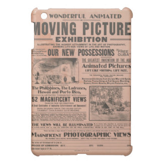 Vintage Moving Picture Exhibition iPad Mini Cover