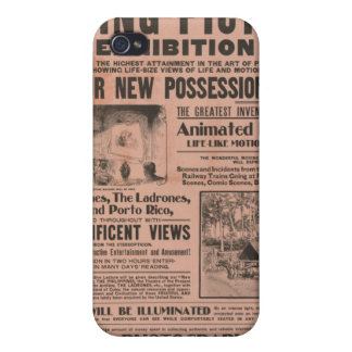 Vintage Moving Picture Exhibition iPhone 4/4S Cover