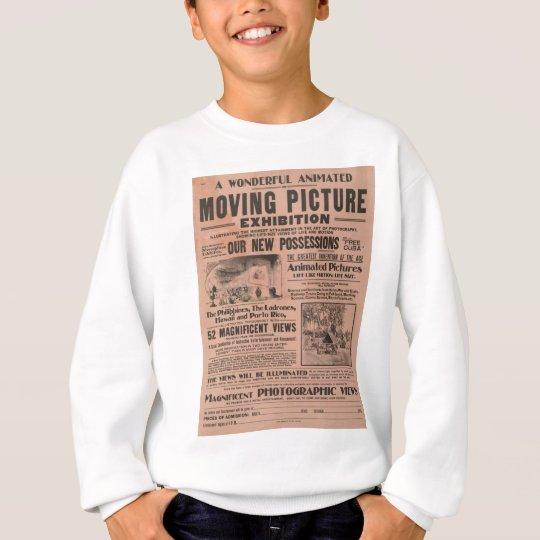 Vintage Moving Picture Exhibition Sweatshirt