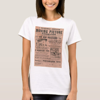 Vintage Moving Picture Exhibition T-Shirt
