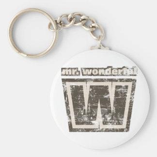Vintage Mr Wonderful Keychain