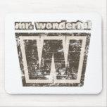 Vintage Mr Wonderful Mouse Pad