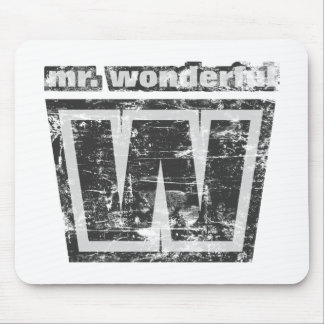 Vintage Mr. Wonderful Mouse Pad