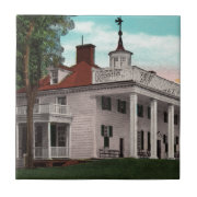 Vintage Mt. Vernon Ceramic Tile