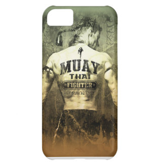 Vintage Muay Thai Fighter Cover For iPhone 5C