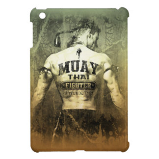 Vintage Muay Thai Fighter Cover For The iPad Mini