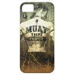 Vintage Muay Thai Fighter iPhone SE/5/5s Case