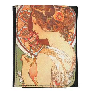 Vintage Mucha Lady Wallet