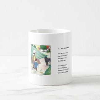 Vintage mug - Baa, Baa, Black Sheep