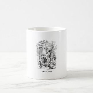 Vintage mug - baby's flowers