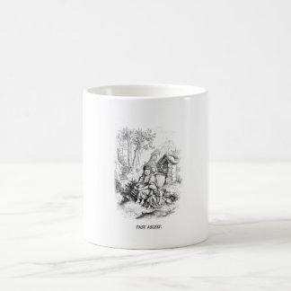 Vintage mug - fast asleep