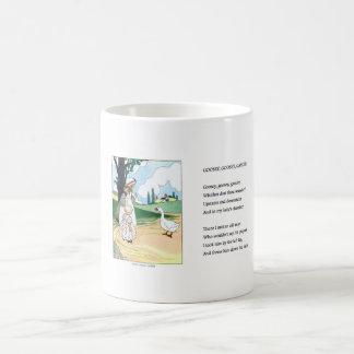 Vintage mug - Goosey, Goosey, Gander
