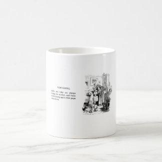 Vintage mug - more kissing