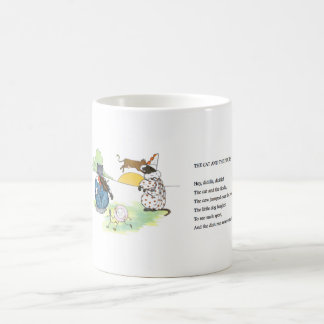 Vintage mug - The Cat and the Fiddle