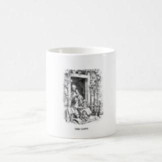 Vintage mug - very happy