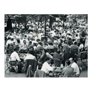 Vintage Munich, Oktoberfest, en alguna parte senta Postales
