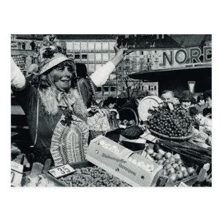 Vintage Munich, Oktoberfest, parada de la comida Postales