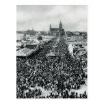 Vintage Munich, Oktoberfest Tarjeta Postal