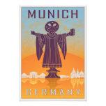 Vintage Munich poster Photo Art