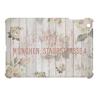 vintage,Munich,roses,typography,shabbychic,rose Cover For The iPad Mini
