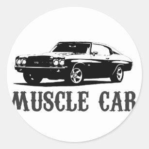 Muscle Car Stickers Sticker Designs Zazzle