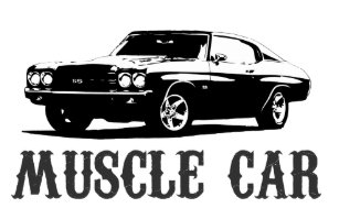 muscle car stickers | zazzle