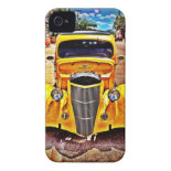 Vintage Muscle Car Hot Rod iPhone 4 Case