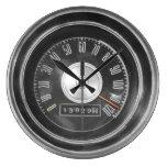 Vintage Muscle Car Speedometer Wall Clock