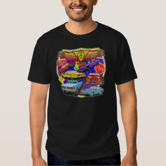 Vintage Muscle Cars Of Yesterday Tee Shirt