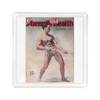 Vintage Muscle Magazine Vanity Tray