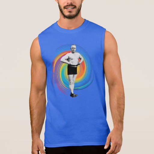 VINTAGE MUSCLE MAN Sleeveless T-Shirt