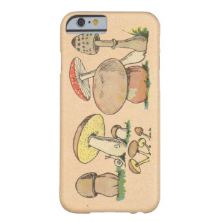 Vintage Mushroom Barely There iPhone 6 Case