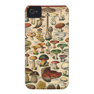 Vintage Mushroom Guide Case-Mate Case Blackberry Bold Covers