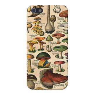Vintage Mushroom Guide iPhone 4 Speck Case