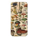 Vintage Mushroom Guide iPhone 4 Speck Case iPhone 5 Case
