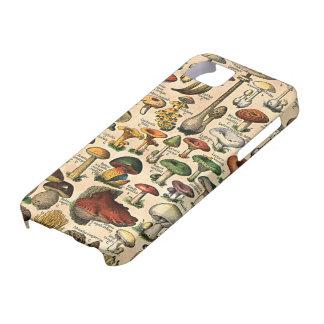Vintage Mushroom Guide iPhone 5 Case-Mate iPhone SE/5/5s Case