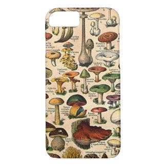 Vintage Mushroom Guide iPhone 7 iPhone 7 Case