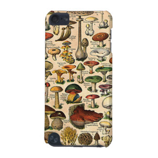 Vintage Mushroom Guide iPod Touch Speck Case