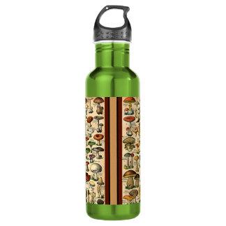 Vintage Mushroom Guide Liberty Bottle 24oz Water Bottle