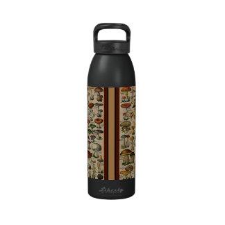 Vintage Mushroom Guide Liberty Bottle Drinking Bottles